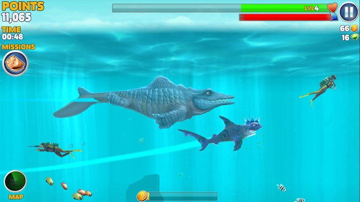 Hungry Shark Evolution Game for windows phone