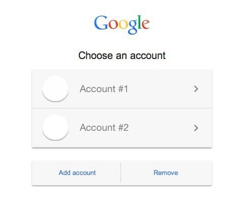 How to Set a Default Google Account