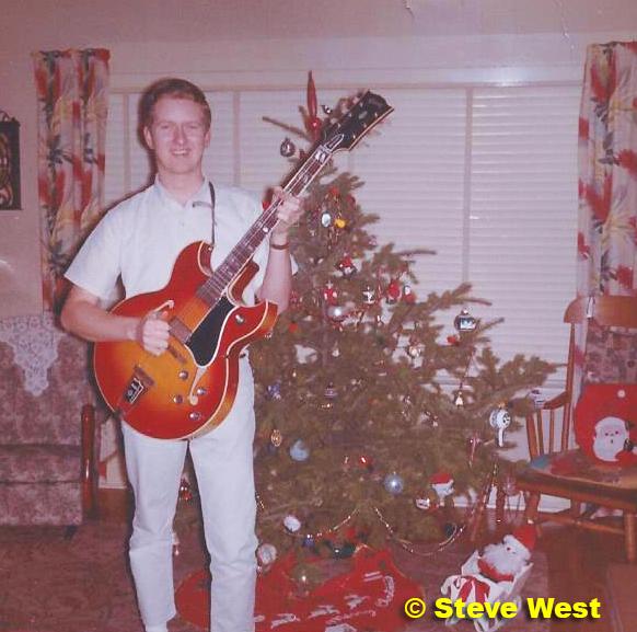 steve West guitar Xmas