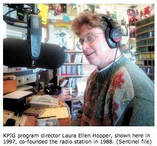 Laura Ellen of KPIG Radio