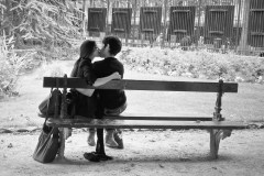 The Kiss on a bench