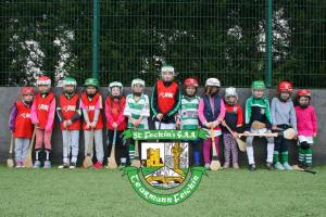 First Camogie Session St Fechins