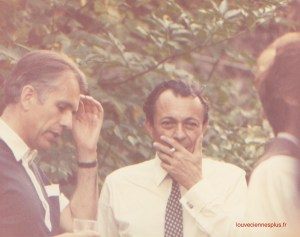 En 1982 à Louveciennes, un jour de fête des fleurs