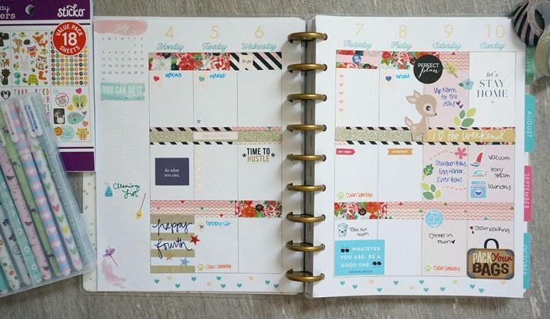 Plan With Me Week #27