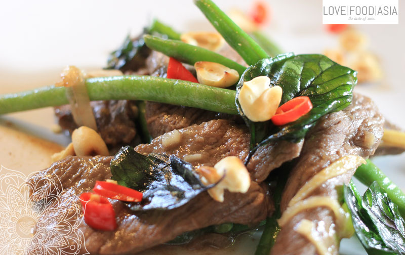 Thai Fried Beef with Beans and Basil