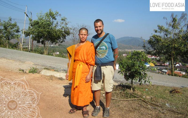 Ich mit Mönch