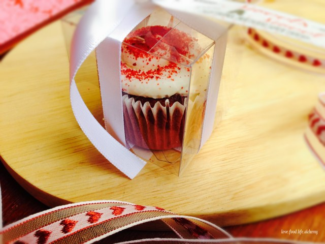 red velvet cupcake valentines