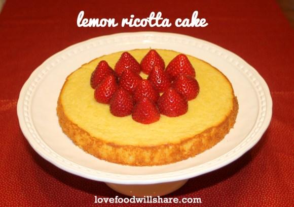 Lemon Ricotta Cake 16