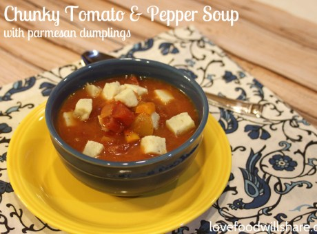 Chunky Tomato & Pepper Soup 5