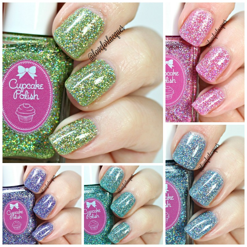 Cupcake Polish The Unicorn Collection | Swatches & Review