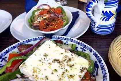 Greek food in Edinburgh