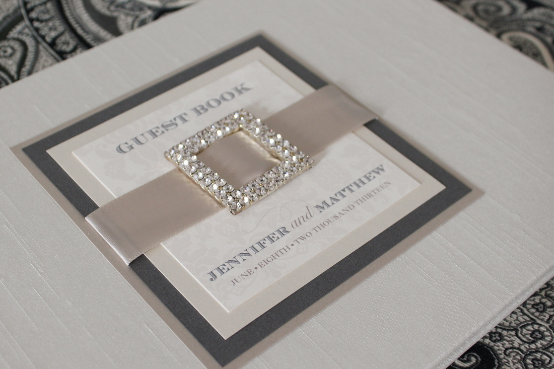 wedding invitations with ribbon and bling wedding invitations with ribbon Love Jessica Handmade Invitations Blog