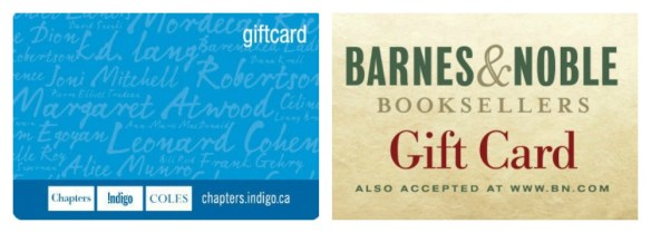 book gift card