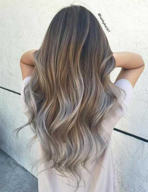 Today's Most Popular Balayage Ombre Hair Colors of 2 by Shawn