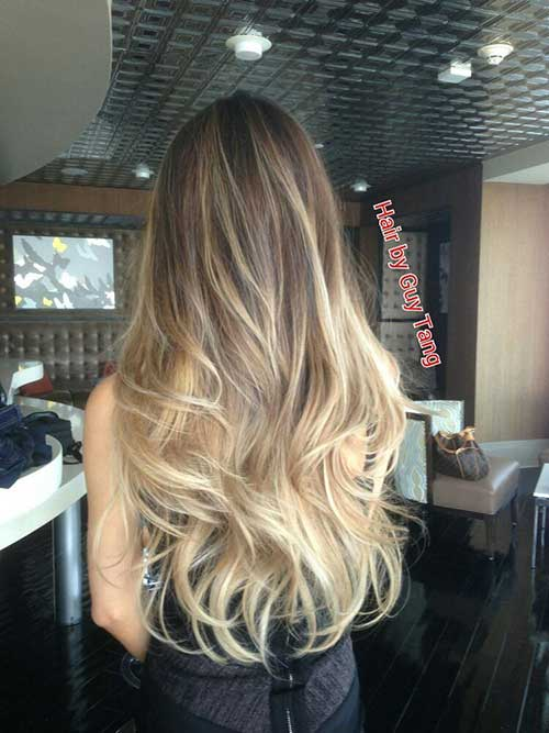 Today's Most Popular Balayage Ombre Hair Colors of 7 by Shawn