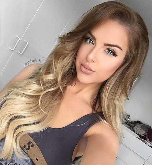 Today's Most Popular Balayage Ombre Hair Colors of 11 by Shawn