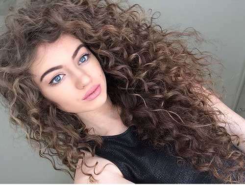 30+ Super Long Layered Curly Haircuts of 10 by Erin