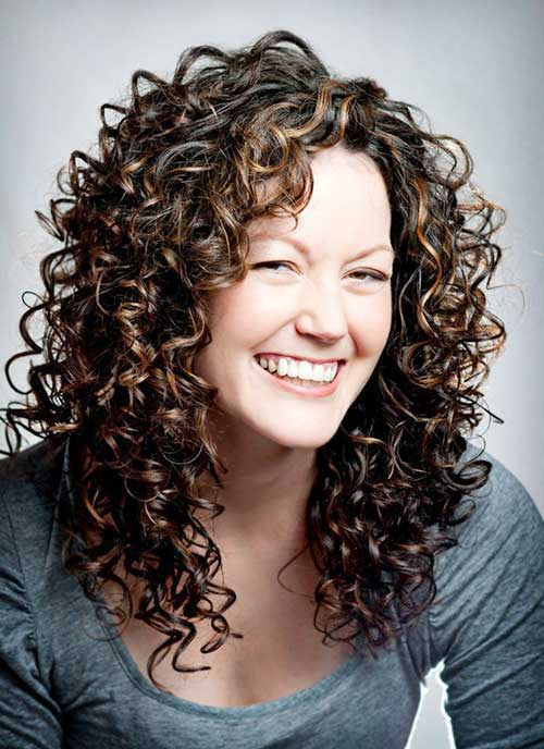 30+ Super Long Layered Curly Haircuts of 16 by Erin