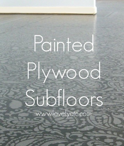 amazing painted floors how to cheap kitchen flooring painted plywood subfloor