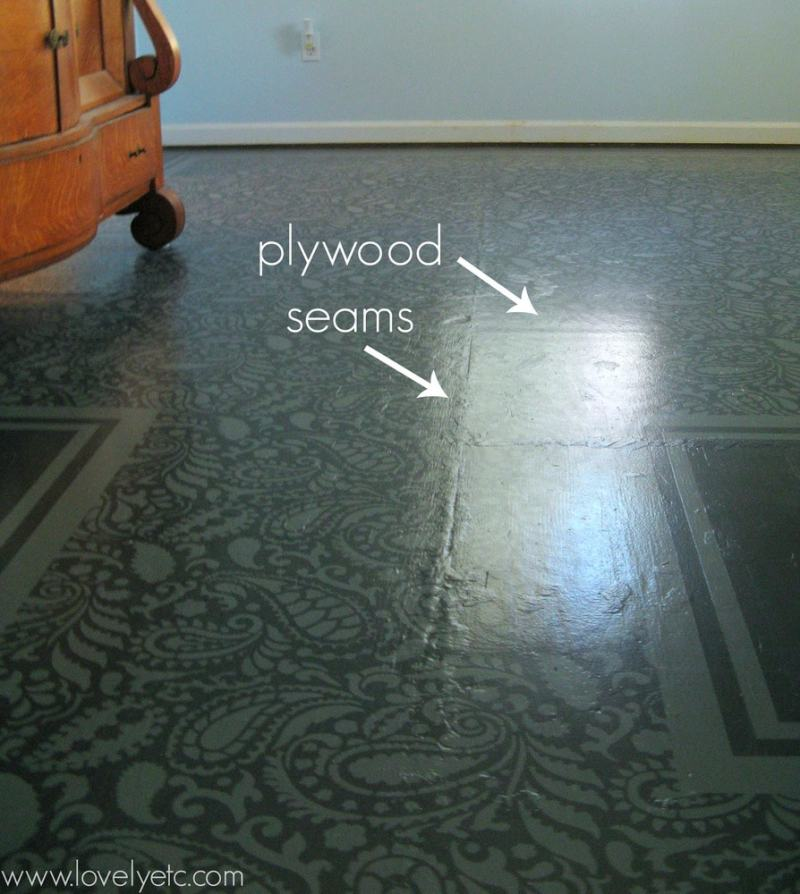 Large Of Painted Plywood Floors