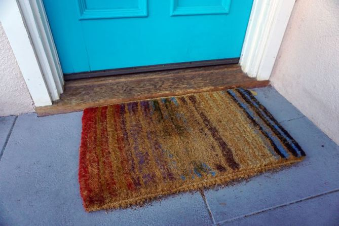 Make Your Own Diy Wooden Doormat Lovely Imperfection