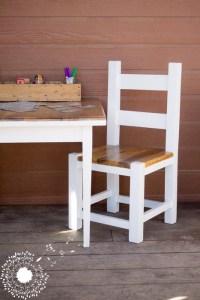 Mini Farmhouse Table Makeover