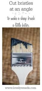 LW Quick Tip – Cheap Chip Brush