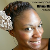 Natural Hair - Protective Style #1