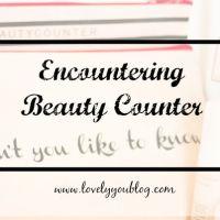 Encountering Beauty Counter