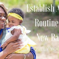 Establish a Daily Routine for New Baby