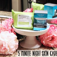 5 MINUTE NIGHT SKIN CARE ROUTINE
