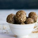 maple almond chai bliss balls | love me, feed me