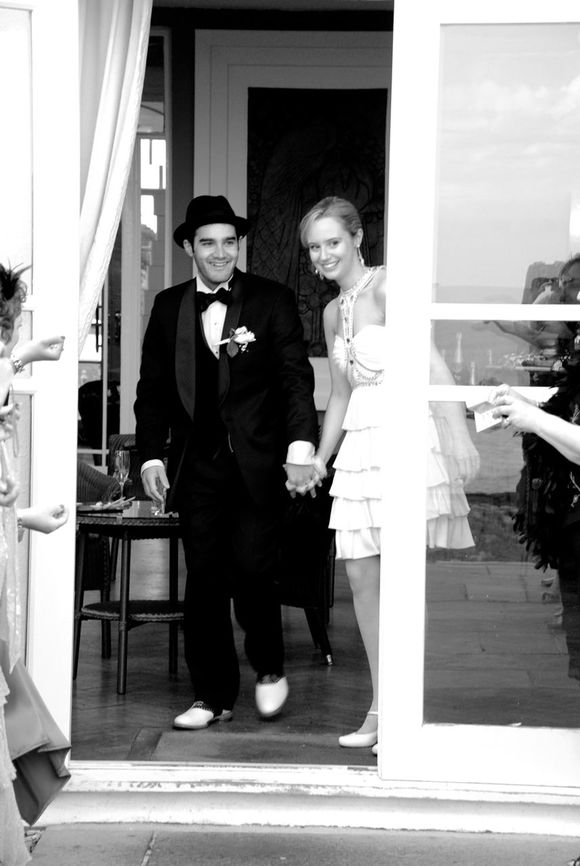 Art Deco Decadence, a Flapper Style Frock and a Wedding Fit for a Cupcake Queen!  {Part 2}