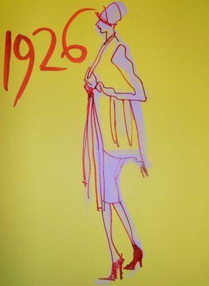 Mark Karl Hughes ~ 'A Century of Fashion' Illustration…