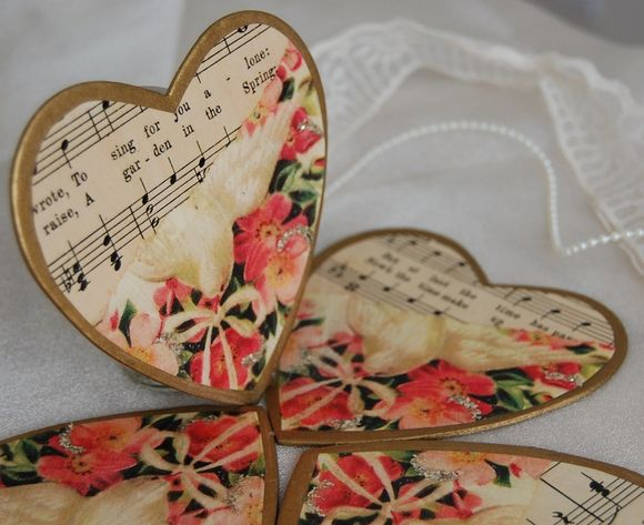 Vintage Twee ~ Vintage Inspired Wedding Favours and Table Decor…