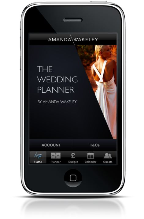 The Wedding Planner by Amanda Wakeley ~ New Website & iPhone Application…