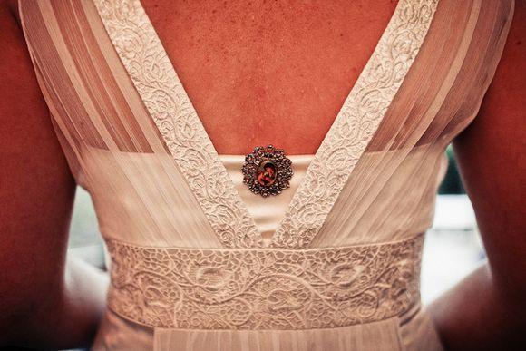 A Monsoon Wedding Dress for a Kensington Roof Top Garden Wedding….