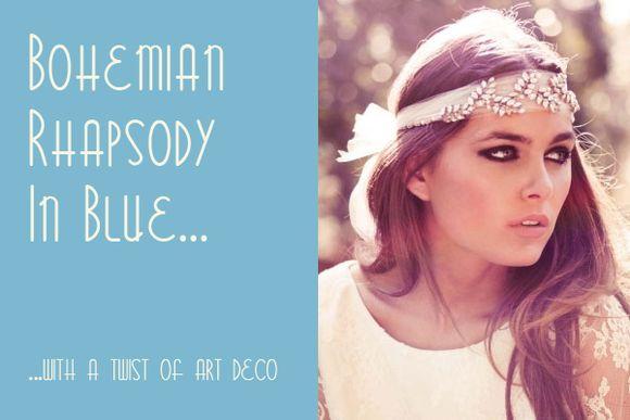 Bridal Inspiration Boards #9 ~ Bohemian Art Deco…