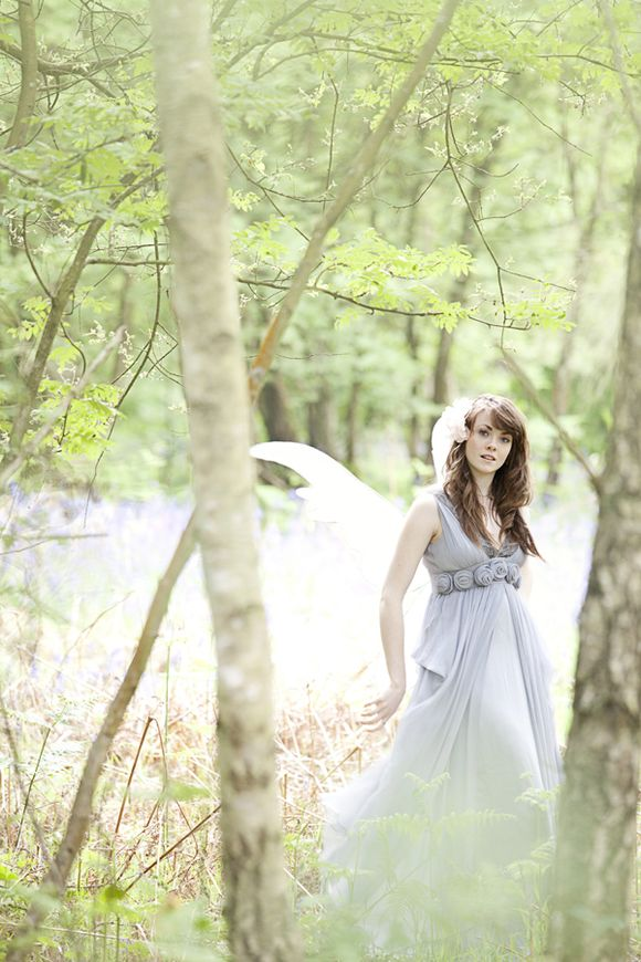Cottingley Fairies Inspired Woodland Bride Photoshoot…