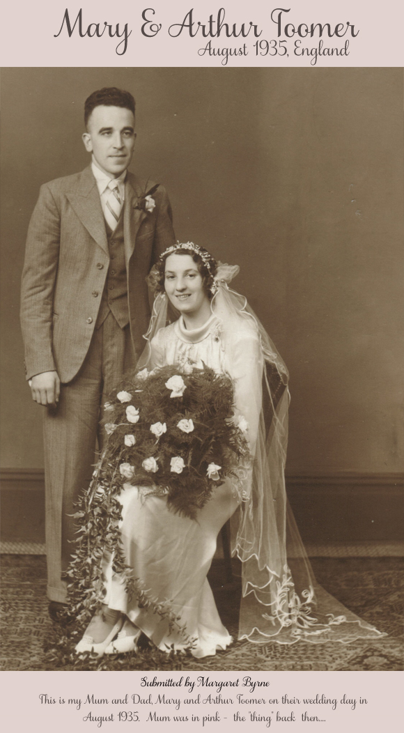 The Vintage Wedding Gallery ~ A Saturday Update…