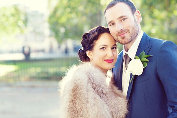 A 1940s Hollywood Glamour Inspired London Bride…