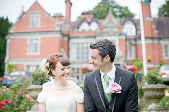 A Pretty Pastel Colour Vintage Inspired Wedding in Wales…