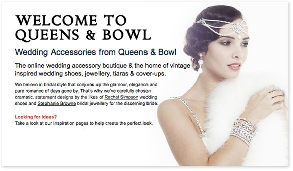 15% Off All Headpieces At Queens & Bowl ~ Offer Ends 31st July 2012…