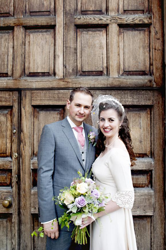 An Original Sixties Wedding Dress and an Heirloom Headpiece…