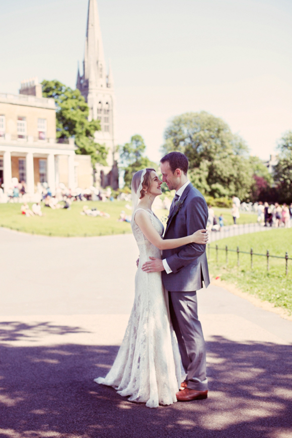 Long Lace and Loveliness ~ A Relaxed London Wedding