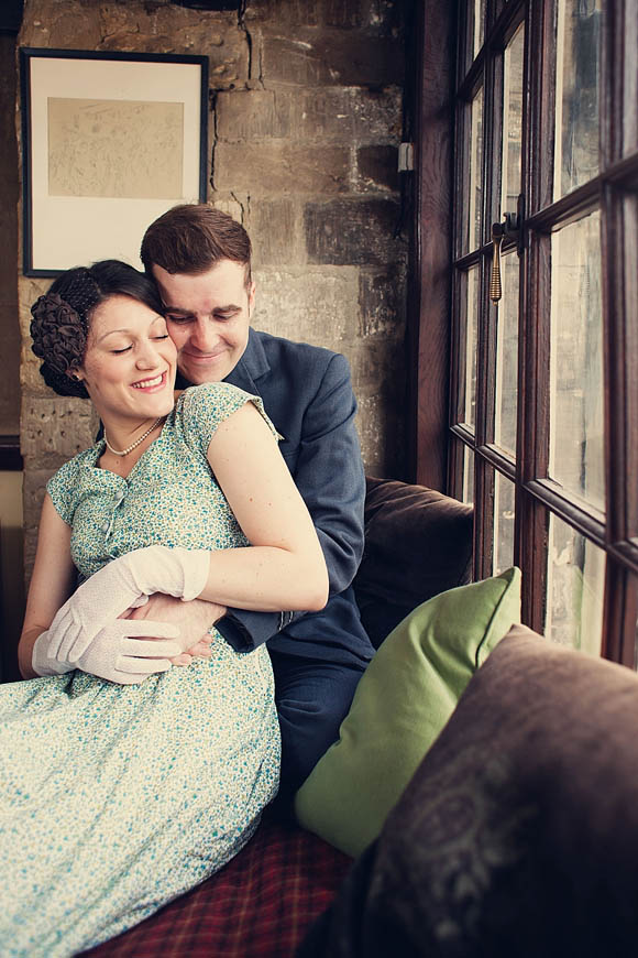 Dressing Up For A 1940s Inspired Engagement Shoot…