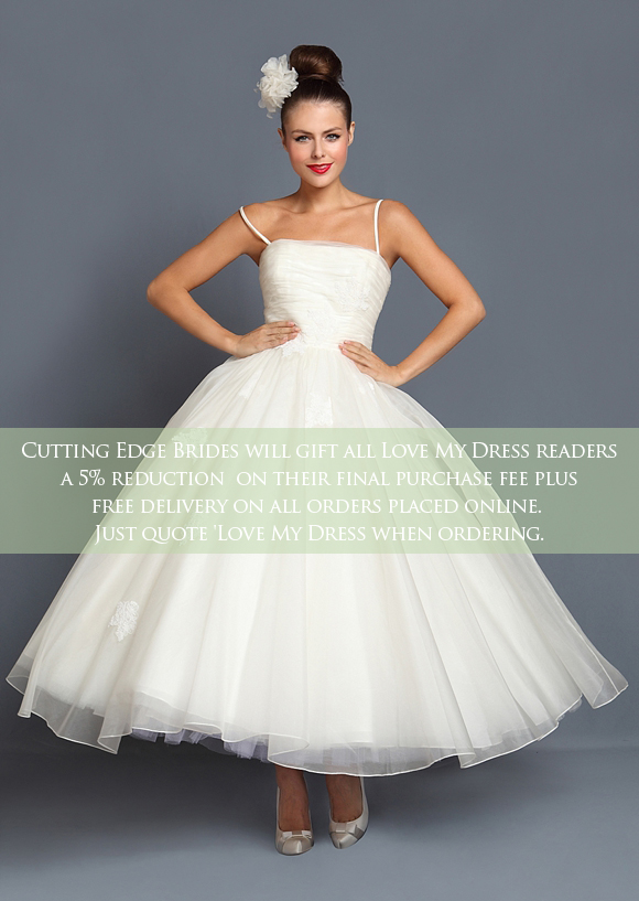 1950s Wedding Dress Tea Length Short Tea Length And 1950's