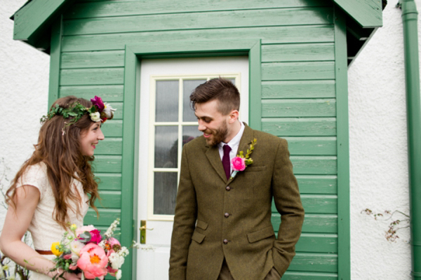 A Colourful, Musical, Floral, Fiesta Style Scottish Wedding