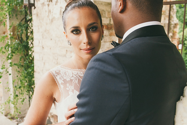 Black Tie And Silver Accents For A Glamorous Lake Garda Wedding