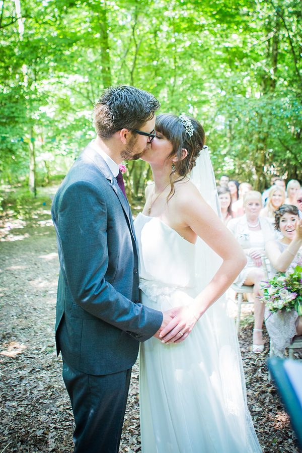 An Eco-Friendly, Quirky Woodland Wedding With Sofas Swinging In The Trees!